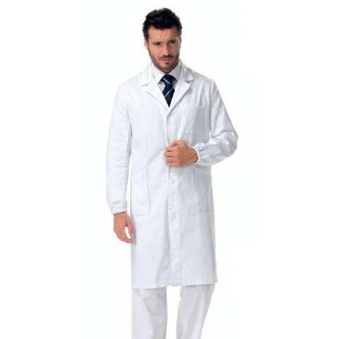 Camice da lavoro per medici - monopetto uomo