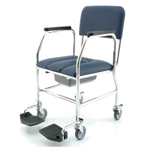 Sedia comoda da bagno per anziani e disabili