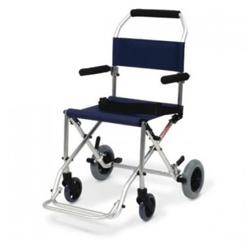 Sedia da trasporto per anziani e disabili pieghevole - Sedia da bagno per disabili ...