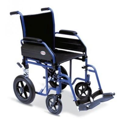 Carrozzina anziani e disabili wintu carrozzine wintu da for Sedia a rotelle ruote piccole