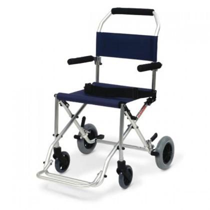 Sedia da trasporto per anziani e disabili pieghevole for Sedia a rotelle per gatti