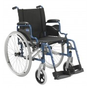 Carrozzina disabili e anziani Act1 - compreso optional ruotine x passaggi stretti