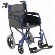 Carrozzina pieghevole da transito per passaggi stretti Alutran per anziani e disabili