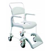 Sedia per wc e doccia con ruote Clean - Medimec