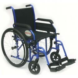 Carrozzina disabili e anziani Excel plus con optional ruotine passaggi stretti