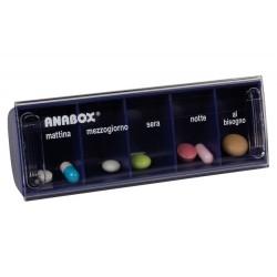 Portapillole giornaliero Anabox