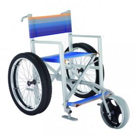 Carrozzina mare per disabili Solemare 4 ruote più una