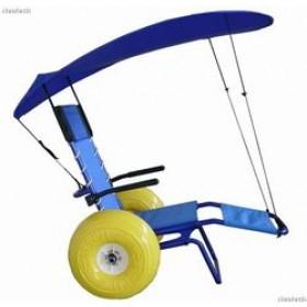 Parasole per sedia da mare disabili