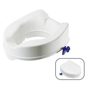 Rialzo WC con fissaggio a fermi (Con o senza coperchio)