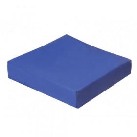 Cuscino antidecubito viscoelastico a base portante di poliuretano espanso per anziani, disabili o infermi.