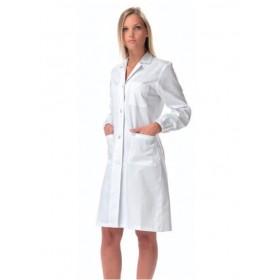 Camice da lavoro per medici - monopetto donna