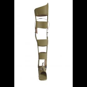 Tutore su misura articolato al ginocchio