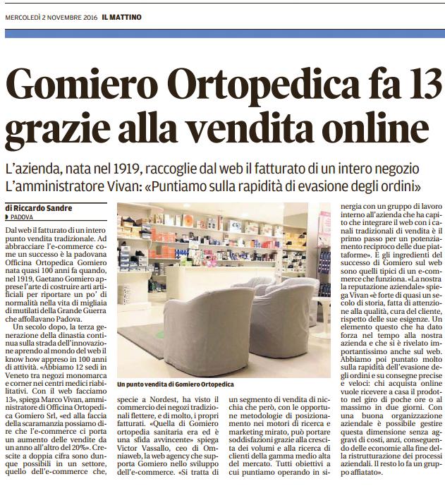 Gomiero Mattino Padova